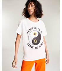 junk food cotton summer state of mind-graphic t-shirt