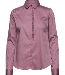 tilda frill shirt overhemd met lange mouwen roze mos mosh