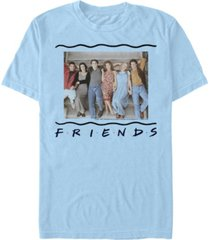 fifth sun friends men's 90s porch group portrait short sleeve t-shirt