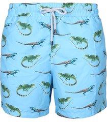 pantaloneta azul steam iguanas