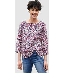 blouse dress in cyclaam