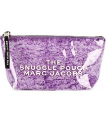 marc jacobs bolsa carteira the snuggle - roxo
