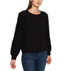 1.state fringe-sleeve sweater