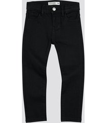 slim jeans med stretch - svart