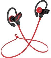 audifonos, auriculares estéreo bilaterales bluetooth 4.1-rojo