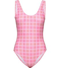 tulum swimsuit badpak badkleding roze résumé