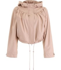 drome hooded bomber jacket