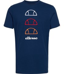 el fever tee t-shirts short-sleeved blå ellesse