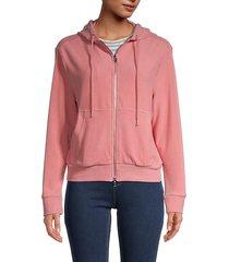 malory hooded jacket