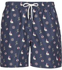 zwembroek polo ralph lauren maillot short de bain imprime micro-motifs cordon de serrage et