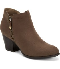 style & co masrinaa ankle booties, created for macy's women's shoes