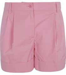 moschino classic plain shorts