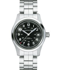hamilton khaki field automatic bracelet watch, 38mm