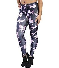 badassleggings women's unicorn leggings 3xl black