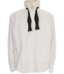 sacai poplin shirt l/s w/pocket