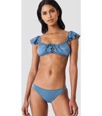 trendyol basic bikini bottom - blue