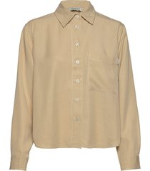 lee 2 blouse lange mouwen beige tiger of sweden jeans