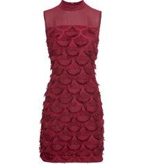 abito con applicazioni (rosso) - bodyflirt boutique