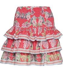 liv skirt kort kjol röd by malina