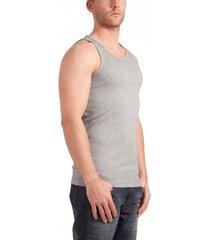 garage singlet semi bodyfit grey (art 0401)