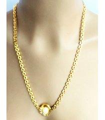 collar wow! 1925 dorado/marfil