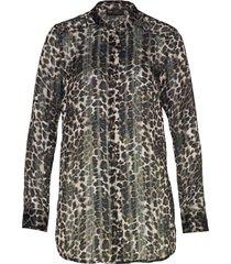 camicetta in chiffon con lurex (grigio) - bpc selection premium