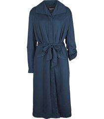 giacca modello trench  in viscosa (blu) - bpc bonprix collection