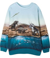 molo light blue sweatshirt
