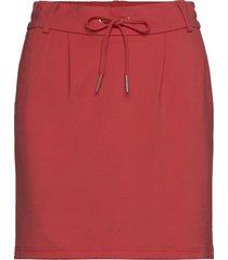 onlpoptrash easy skirt pnt noos kort kjol röd only