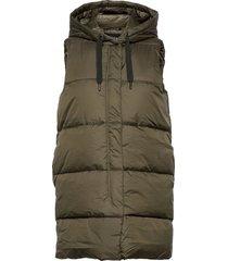onlnewasta puffer waistcoat cc otw vests padded vests grön only