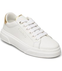 lace-up sneaker låga sneakers vit valentino shoes