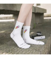 donna cotone cartoon carino pittura banana rocket dinosaur short tube ankle sock