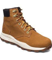 brooklyn 6 inch boot snörade stövlar brun timberland