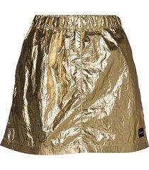gold mini skirt kort kjol guld calvin klein jeans