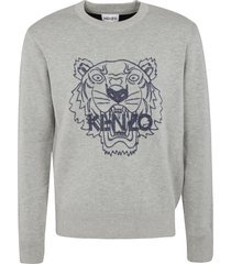 kenzo tiger logo pullover