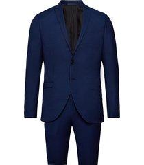 jprsolaris suit kostym blå jack & j s