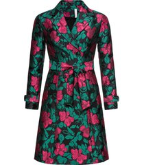 cappotto a fiori (nero) - bodyflirt boutique