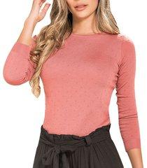 blusa kyla rosado  para mujer croydon