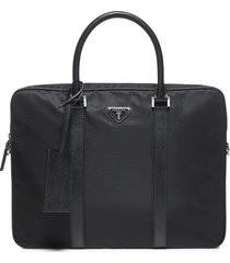 prada brief case tote
