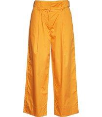 tanderfit cotton wijde broek oranje rodebjer