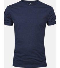 t-shirt - mörkblå