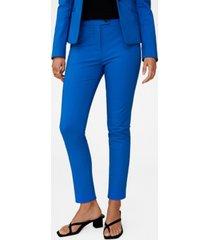 mango women's suit skinny-fit pants