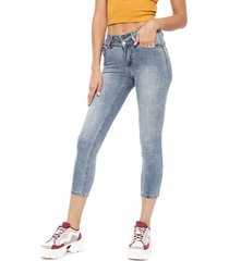 jeans il gioco negro - calce ajustado