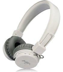 audífonos gamer, gaming estéreo hd inalámbricos audifonos bluetooth manos libres de los auriculares originales de nia x3 deportivos con la radio de la tarjeta fm del tf de la ayuda del micrófono (blanco)