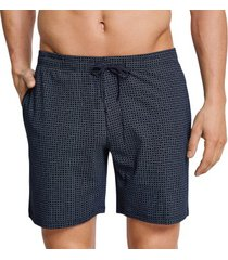 schiesser mix and relax jersey long boxer