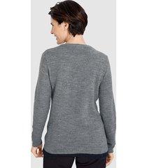 tröja paola grå::mörkgrå::marinblå
