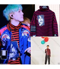 kpop bigbang  gd sweatershirt g-dragon sweater bts suga pullover hoodie jumper