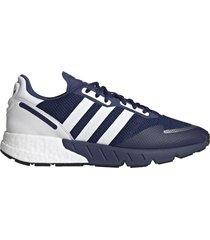 zapatilla azul adidas originals zx 1k boost