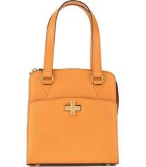 céline pre-owned logos hand tote bag - orange