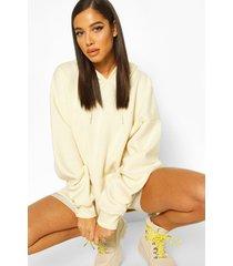 oversized hoodie, ecru